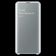 Acheter Etui à rabat Clear View Samsung Galaxy S10+