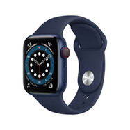 Acheter Apple Watch Series 6 Cellular 40mm alu bleu bracelet sport bleu