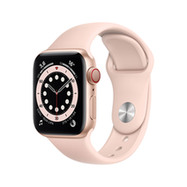 Acheter Apple Watch Series 6 Cellular 40mm alu or bracelet sport rose