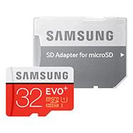 Acheter Carte Micro SD Samsung EVO Plus avec adaptateur SD