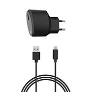 Acheter Chargeur secteur Xqisit 2,4A et cable micro USB