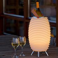 Acheter  Enceinte LED Seau Champagne Taille M