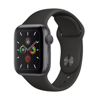 Acheter Apple Watch Series 5 Cellular 40mm alu gris sidéral bracelet noir