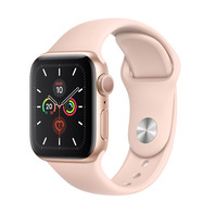 Acheter Apple Watch Series 5 4G 40mm alu or bracelet rose des sables