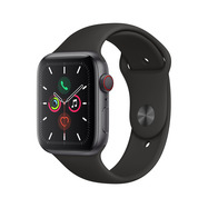 Acheter Apple Watch Series 5 Cellular 44mm alu gris sidéral bracelet noir