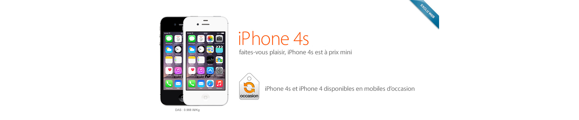 iPhone 4S occasion