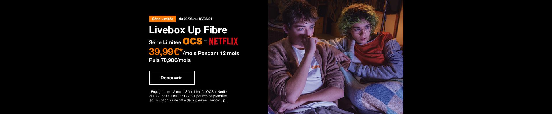Bon plan OCS et Netflix