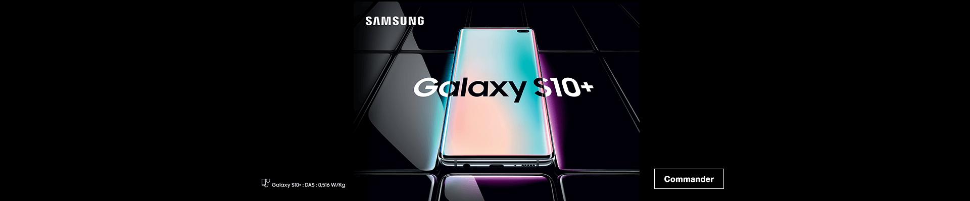 Samsung Galaxy S10 commander