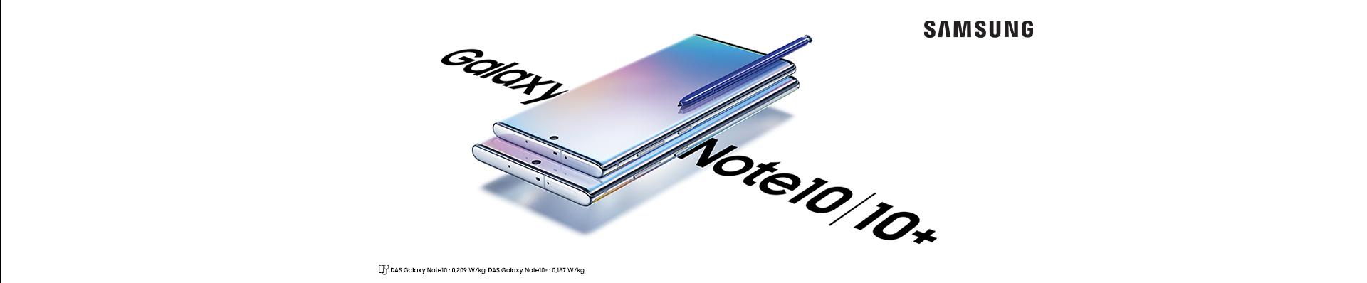 Samsung Galaxy Note10 commande