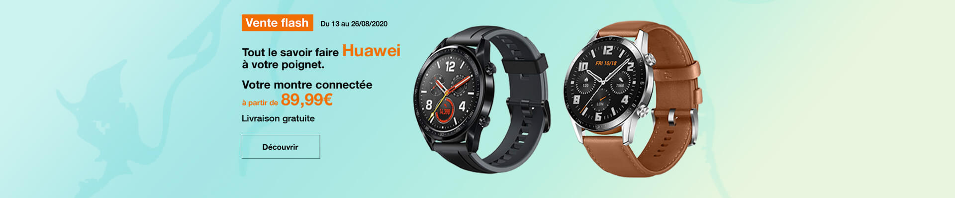 vente flash montres connectées