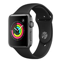 Afficher les avis pour le produit Apple Watch Series 3 42mm alu gris sidéral bracelet noir