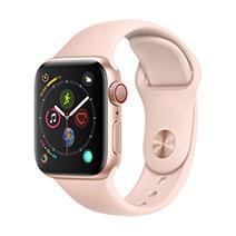 Afficher les avis pour le produit Apple Watch Series 4 4G 40mm alu or bracelet sport rose des sables