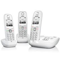 Afficher les avis pour le produit Gigaset AS 405A blanc trio répondeur