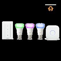Afficher les avis pour le produit Kit de démarrage ampoules connectées E27 Philips Hue