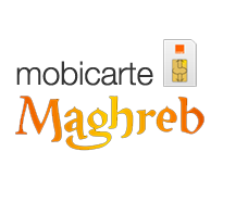 Carte prépayée orange Maghreb