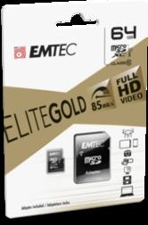 Carte memoire Micro Sd Emtec 64Gb