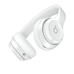 Casque Beats Solo 3 Blanc Brillant vue 1