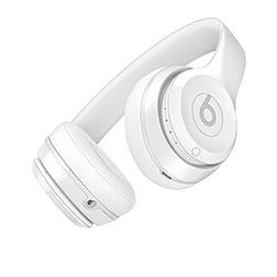 Casque Beats Solo 3 Blanc Brillant vue 1