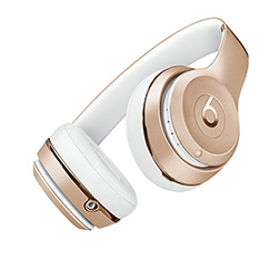 Casque Beats Solo 3 Or vue 1