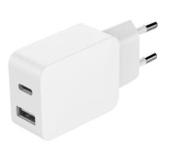 Chargeur Secteur Bigben 2 sorties USB A et C
