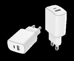 Chargeur Secteur USB-A USB-C Just Gree