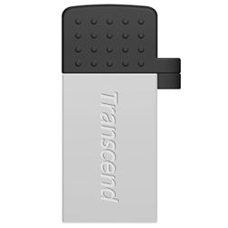 Cle USB Transcend JetFlash 380 32Go vue1argent