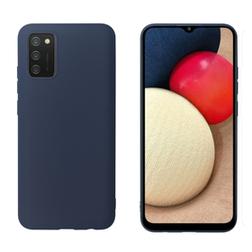 Coque Colorée Myway Samsung Galaxy A02S Bleue
