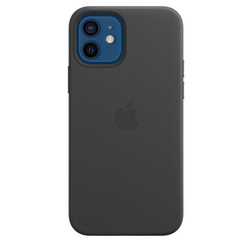Coque Cuir Apple iPhone 12 Et 12 Pro Noire