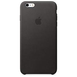 Coque Cuir pour Iphone6S Plus-noir-vue1