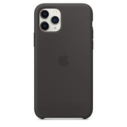 Coque en silicone pour iPhone 11 Pro - Noir - vue1