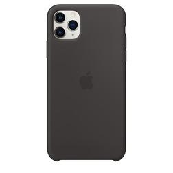 Coque en silicone pour iPhone 11 Pro Max - Noir - vue1