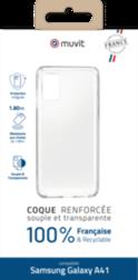 Coque Made In France Samsung A41 Transparente