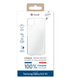 Coque Made in france Samsung Galaxy A22 5G Transparente
