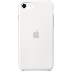 Coque Silicone Apple SE Blanc vue 1