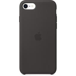 Coque Silicone Apple SE Noir vue 1