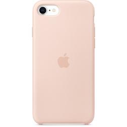 Coque Silicone Apple SE Rose vue 1