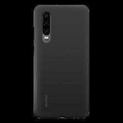 coque silicone Huawei P30 Noir vue 1