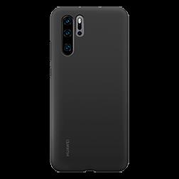 Coque silicone Huawei P30 Pro Noir dos
