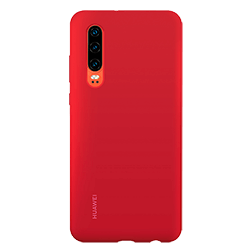 Coque silicone Huawei P30 Rouge 1