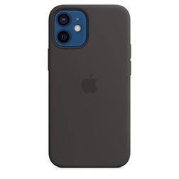 coque silicone noir apple