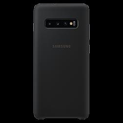 Coque silicone Samsung  Galaxy S10plus noir - vue 2