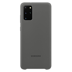Coque Silicone Samsung S20 Plus gris vue 2