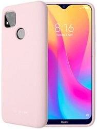 Coque Smoothie Rose Xiaomi Redmi 9C
