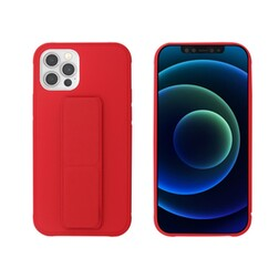 Coque Stand My Way pour iPhone 12 et 12 Pro Rouge