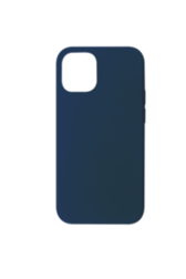 Coque Touch Silicone iPhone 12 Max et Pro Bleue