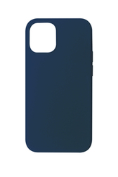 Coque Touch Silicone pour iPhone 12 Pro Max Bleue