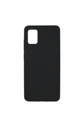 Coque Touch Silicone pour Samsung Galaxy A51 5G Noire