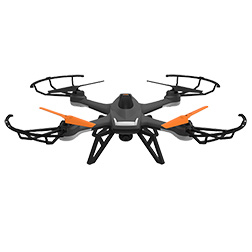Drone Orange Noel 2017 vue 1