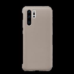 Etui a rabat Huawei P30 Pro Portefeuille kaki dos