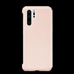 Etui a rabat Huawei P30 Pro Portefeuille rose dos